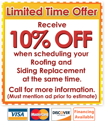 10% OFF Roofing and Siding | SUNSET HOME REPAIR | Roofing & Siding